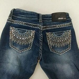Grace in LA Bootcut Women's Jeans Size 25
